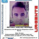 ¿Has visto a Antonio? Ha #desaparecido en Sangonera la Verde #Murcia Si puedes colaborar 📞062 📞112 Ayúdale con tu RT https://t.co/4zYRSKHc8s