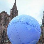 Strasbourg: Une sphère géante au pied de la cathédrale pour la candidature de la France à… https://t.co/tc7TcKK0lS https://t.co/aVCuJYGAXf