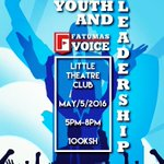 .@FatumasVoiceMSA will be discussing #YouthAndLeadership this Thursday. Bring a friend. 😊 https://t.co/wRiiyFZ3nY