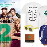 WIN: Fancy winning #BadNeighbours2 goodies?  To enter simply RT with #BadNeighbours2 https://t.co/Ym3abUCF4f