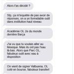 """Gignac : """"Lété dernier, Aulas menvoyait des romans par SMS."""" https://t.co/gqxZ5u6l6p"""