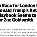 Zac Goldsmith now being compared to Trump, which is probably not what he expected last year. https://t.co/ul1xlQ0oDc https://t.co/Bfs0zo0uco