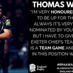 Congratulations to @Toottankwaldrom nominated for the #RPA Players Player in assoc @EnglandRugby.  #RPAAwards2016 https://t.co/VR1KDnKfiI