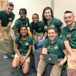 Patriot leaders are so happy to be welcoming students! @MasonOrientU https://t.co/QGLx82nX9c