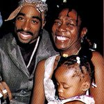 Afeni Shakur rejoices with his son Tupac A Shakur. Rest in Peace We love u. https://t.co/nOCtJyLkno