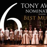 .@HamiltonMusical has been nominated for 16 Tony Awards including Best Musical. https://t.co/isDnp4Hrsq