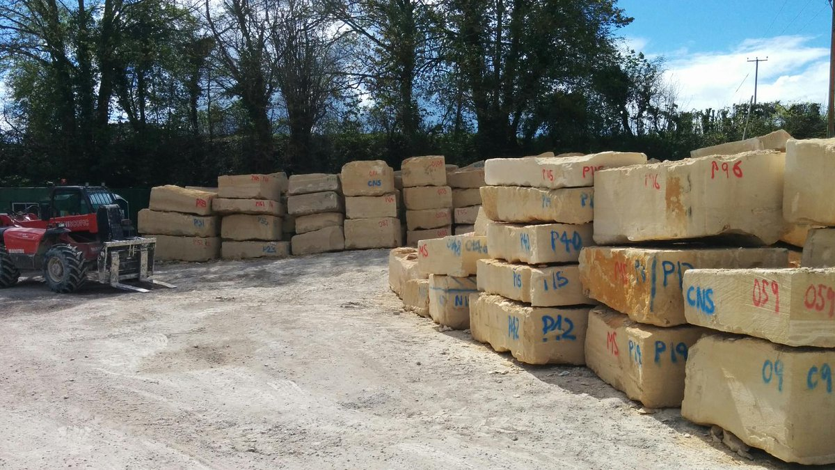 We now have a sufficient stock of our Elm Park Bath Stone to enable us to return to work at Park Lane