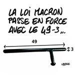 Loi Travail / Loi Macron #PoseTon49Trois (Par @marclarge) https://t.co/VZkson1FcM