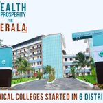 Congress led Kerala Govt built 6 new district hospital, helping more people get access to quality health care. https://t.co/u3Ai9bfRNV