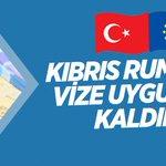 #Türkiye, vize muafiyeti için #Kıbrıs Rumları dahil 11 ülkeye vize uygulamasını kaldırdı. | https://t.co/TIPg3nCFDA https://t.co/fwSrp2kBv5