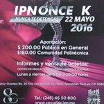 @CECUTLAXIPN invita! #Tlaxcala https://t.co/vD3XOjhaup