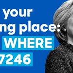 Live in Indiana? Go vote: Hillary needs you. Text WHERE to 47246 to find your polling place. https://t.co/sZqWV6DCfn