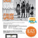 Stop by @BlazePizza today and support #GiveNOLA Day! https://t.co/trVTxcgONy