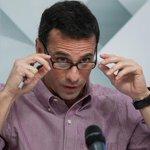 """Capriles inicia conteo regresivo para validación de firmas en el CNE: """"Son cinco días"""" https://t.co/0ITeZszHZx https://t.co/mls6YPEzGr"""