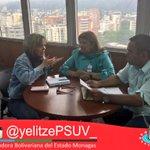 #Ahora en Reunión con Ingrid Suarez Pdta de Ducolsa donde abordamos tema de urbanismos en #Monagas .@NicolasMaduro https://t.co/OENxflMdsV