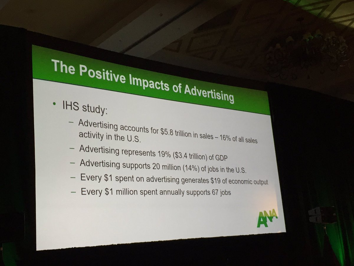 Long live the power of advertising. #anaafm https://t.co/plhkYHRLWr