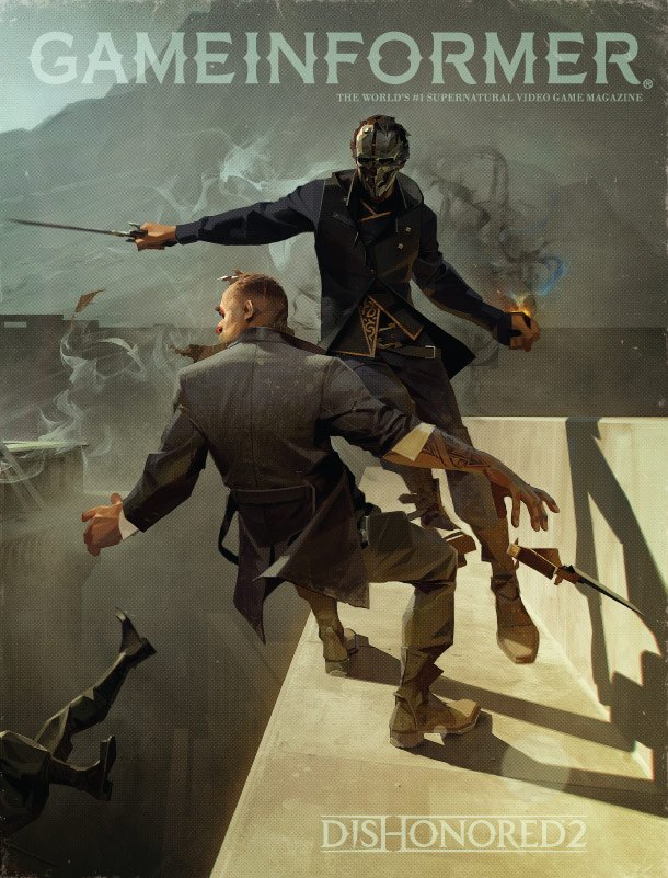 Which @dishonored 2 Game Informer cover do you like best? RT for Emily, or like for Corvo! https://t.co/LFlBJvrBJz
