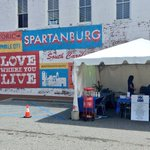 Beautiful day to #iGiveLocal here in Spartanburg with the Spartanburg County Foundation! #GiveSptbg @iGiveLocal https://t.co/0aLgBEUH1A