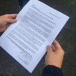 Ya entregamos nuestra carta a las autoridades competentes, EXIGIMOS RESPUESTA a nuestra solicitud!! #PlanGarra https://t.co/p0ySgZRxWu
