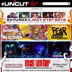 #UncutATL ???????? • Saturday, May 21st • Live Face Painting + Fear Factor Contest & more! • @ Museum Bar ‼️ https://t.co/BcVd3utPnT x5
