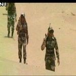 Jaisalmer (Rajasthan): BSF jawans on duty in Thar Desert where temperature soars beyond 50 °C https://t.co/iiXYd1RW0u