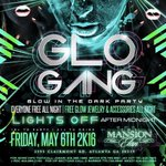 * BIGGEST GLOW PARTY EVER *  TOMORROW NIGHT !  • FREE ALL NIGHT • FREE GLOW ACCESSORIES  • @ #MansionElan   https://t.co/Kk7DT6iU8c x1