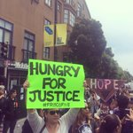 #HungerForJusticeSF #Frisco5 march to #sfmayor #sfpd #FireChiefSuhr #MarioWoods #SanFrancisco #FriscoFive https://t.co/wDdjRubTcl