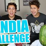 "Nuevo video de YT con @andymtzurita! ""SANDIA CHALLENGE"" ???? #LosZuritaSandiaChallenge ???????? https://t.co/hM1GP0EK5Z ???? https://t.co/ExSzIDk0CC"