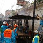 Cuadrillas de @alcaldia_ss continúan trabajando en rescate del centro histórico https://t.co/JOr88nyUPw