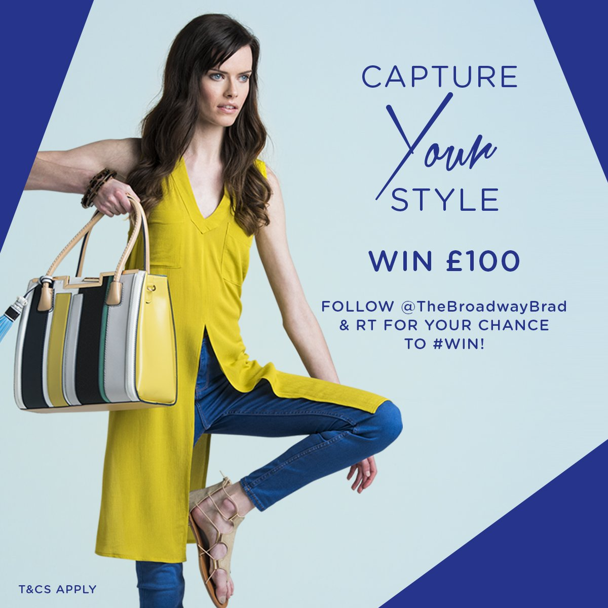 Follow @TheBroadwayBrad & RT to #win! T&Cs:https://t.co/fopKkDTonx #competition #captureyourstyle https://t.co/EQu3mL5GpM