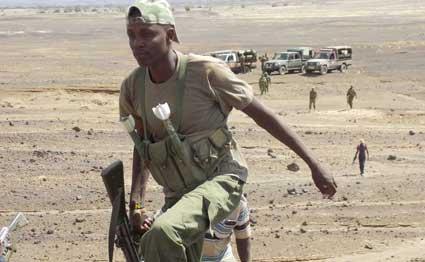 Governor Nanok says illegal firearms impede peace in Turkana
