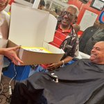 We had a great time with Frank - barber in #DC for over 50 yrs! Get your next cut at Gregs #Ward1 #DCSmallBizWeek https://t.co/Xwd2mV1WmE