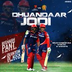 A loud cheer for the #DuandaarJodi of @RishabhPant77 & @QuinnyDeKock69! The #DilliBoys are on fire! #GLvDD #DilDilli https://t.co/gZAacWSINZ