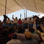 #AlMomento #Elecciones2016 Respalda @CCQ_PRI al candidato @MarcoAMena y a #GonzaloDíaz #Zacatelco. @sociorodriguez https://t.co/KY4OU719Mb