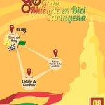 ¡Este domingo Muevete en Bici! Cartagena. La cita es para participar en el Ciclopaseo por Cartagena. https://t.co/LLchFpVMJl