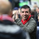 Roy #Makaay will be cheering the boys on from the stands tonight! #Legend #MiaSanMia #FCBAtleti https://t.co/uLK1tTWaMX