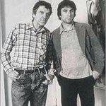 Robert de Niro est mort !! Cétait le 3 mai 93 ???? Ici le peintre en photo avec son fils...le comédien Robert De Niro https://t.co/1ItL3vYB7E