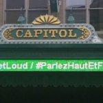 In honor of #MentalHealthWeek our marquee will be lit in green every evening this week. #GETLOUD @CMHA_NTL https://t.co/Lmgu2Zkq6I