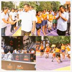 Delhi CM @ArvindKejriwal cheered on the youngsters during the Delhi KBDY StarSportsIndia event https://t.co/Ld3lGjyd8R