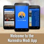 Welcome to the Narendra Modi App via NMApp प्रधानमंत्री मोदी जी से जुड़ें आज ही Modi App download करें। https://t.co/5Glyp84nwd