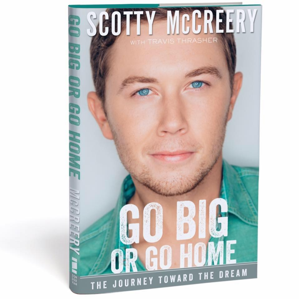So honored to be a part of this incredible story! RT to Win an autographed copy of @ScottyMcCreery 's #GoBigOrGoHome https://t.co/IK5nB9mVHp