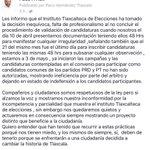Queridos amigos y ciudadanos de tlaxcala, no podemos quedarnos quietos... #NiUnPasoAtras https://t.co/SqKPfjb2jG