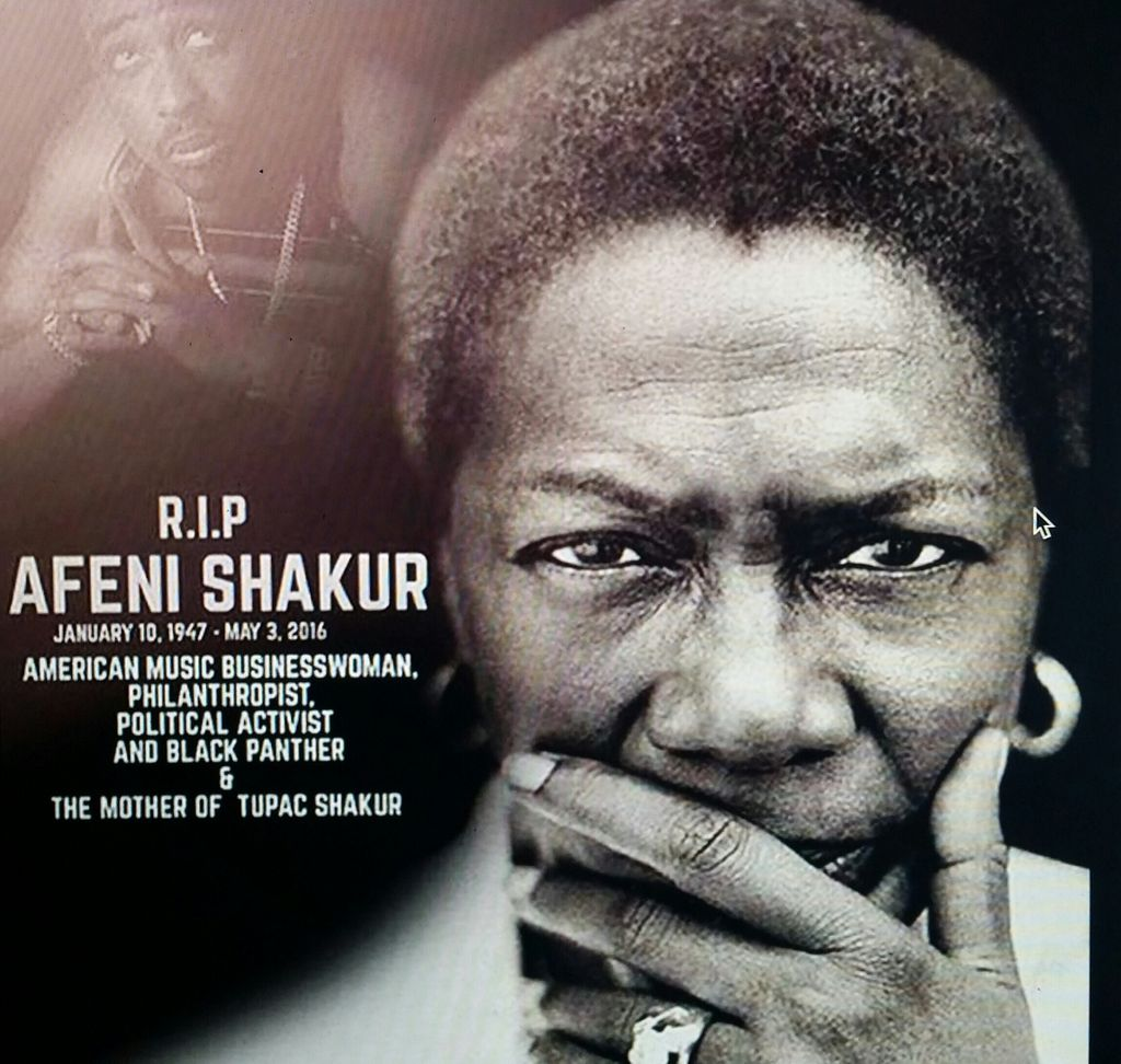Rest In Peace Afeni Shakur #Queen, activist. You raised a legend. https://t.co/TPxEr3W330