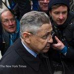 Sheldon Silver, ex-New York Assembly speaker, is sentenced to 12 years in prison https://t.co/T1SFNBAPEp https://t.co/pI2hlvt3yB