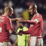 """Lindelöf: """"Hoje um dos meus sonhos tornou-se realidade: um dia poder jogar lado a lado com esta lenda do Benfica."""" https://t.co/CyCBLQQGtY"""