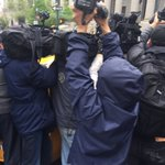 The media crush as Sheldon Silver tried to get in a cab post sentence @fox5ny https://t.co/tlf8YKhN7O