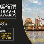 Ecuador presente en los #WTA2016 ¡Tu apoyo es importante! Vota aquí ➡ https://t.co/zT90PEhteB https://t.co/a9vmhds2oH
