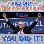 Dont call it a comeback, @BernieSanders been here for 30 years. Thank you Indiana! #IndianaPrimary #FeelTheBern https://t.co/sqeLJgDk27