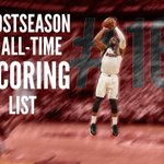 Dwyane Wade has passed Elgin Baylor for 16th on the all-time postseason scoring list. https://t.co/r2Qarf0rJm