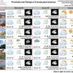 Pronostico del tiempo a 3 días p/#Veracruz  nublado c/lluvias dispersas, NORTE en la costa, temps menores #FFrío60 https://t.co/lxbcjevuUP